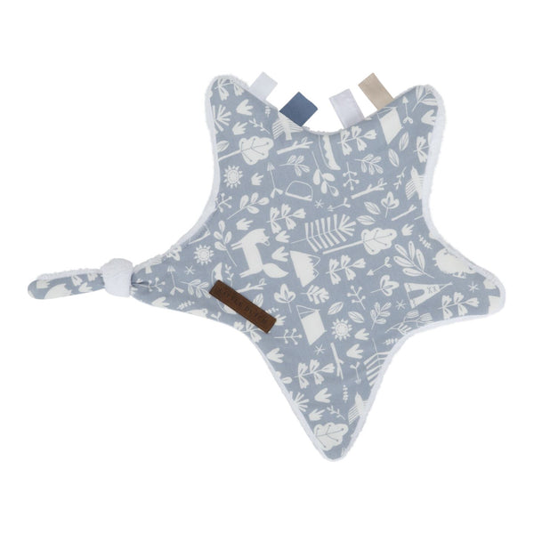 Doudou star adventure blue Little Dutch Bib Little Dutch