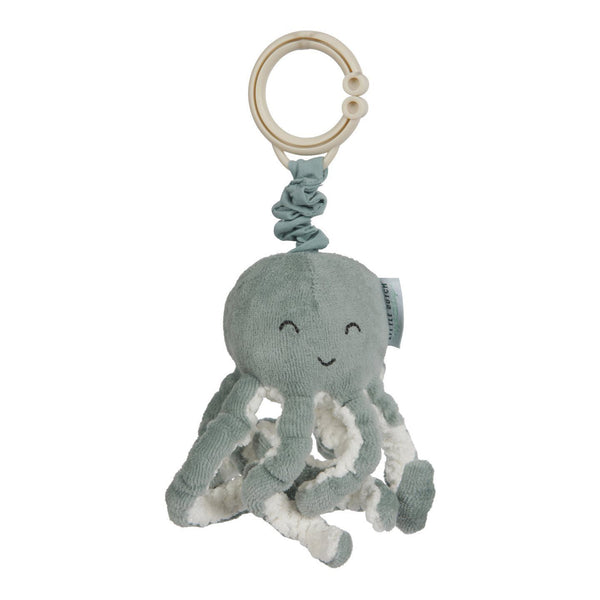 Pull-and-shake octopus ocean mint Little Dutch Toys Little Dutch