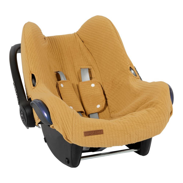 Car seat cover ochre Little Dutch baby accessories Little Dutch
