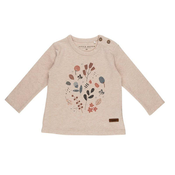 LS top with print Spring Flowers Little Dutch Top Little Dutch