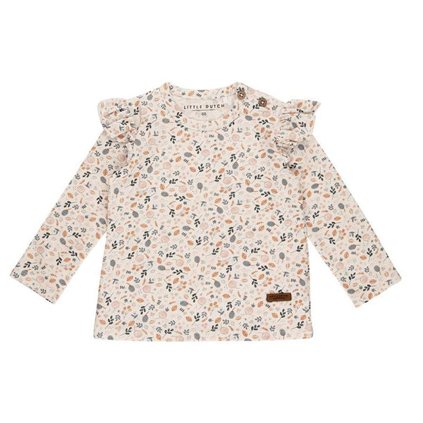 LS top all over print Spring Flowers Little Dutch Top Little Dutch