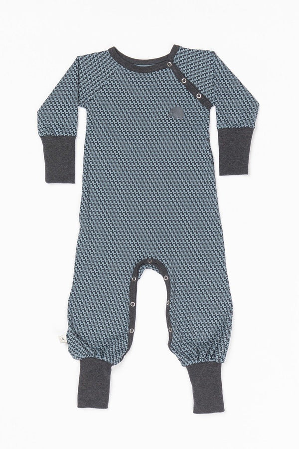 Hedigby playsuit blue mirage
