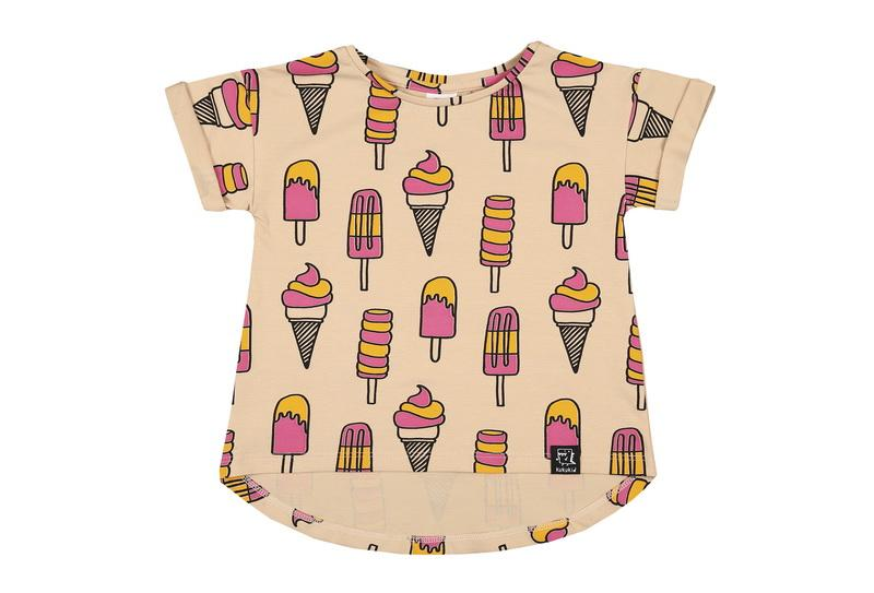T-shirt ice cream Kukukid Tops Kukukid