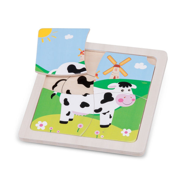 Mini puzzle cow New Classic Toys Toys New Classic Toys