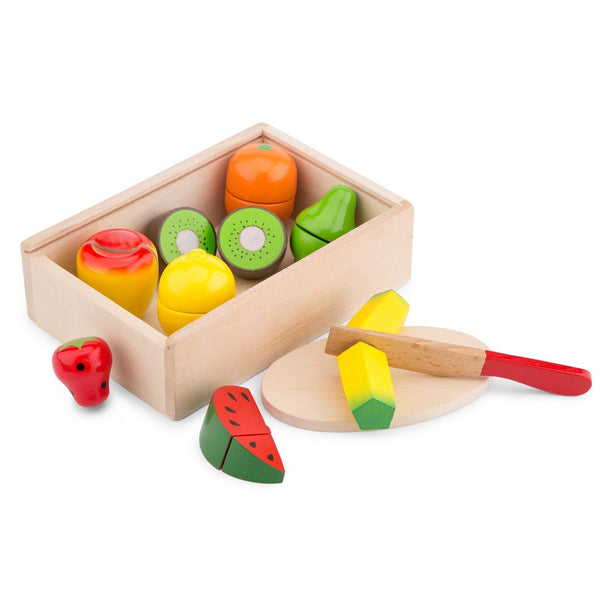 Cutting meal fruit box New Classic Toys Toys New Classic Toys