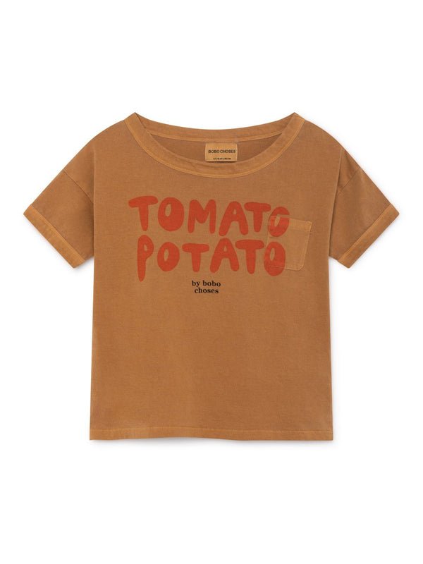 Tomato potato SS t-shirt Bobo Choses