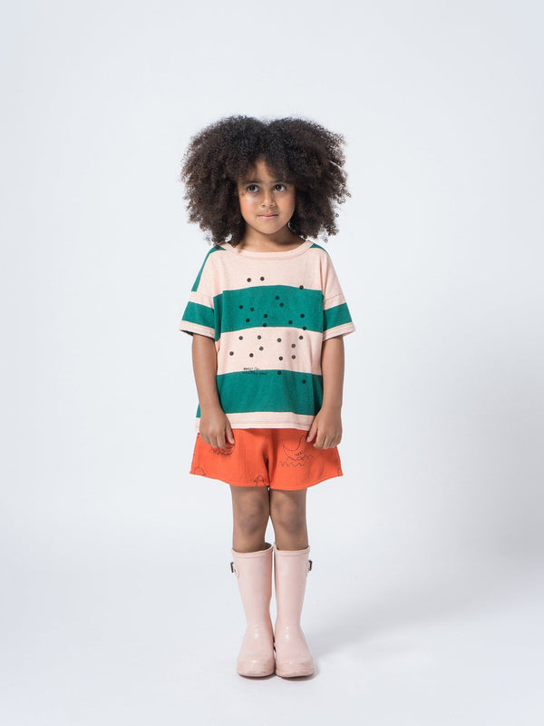 Bees linen SS t-shirt Bobo Choses