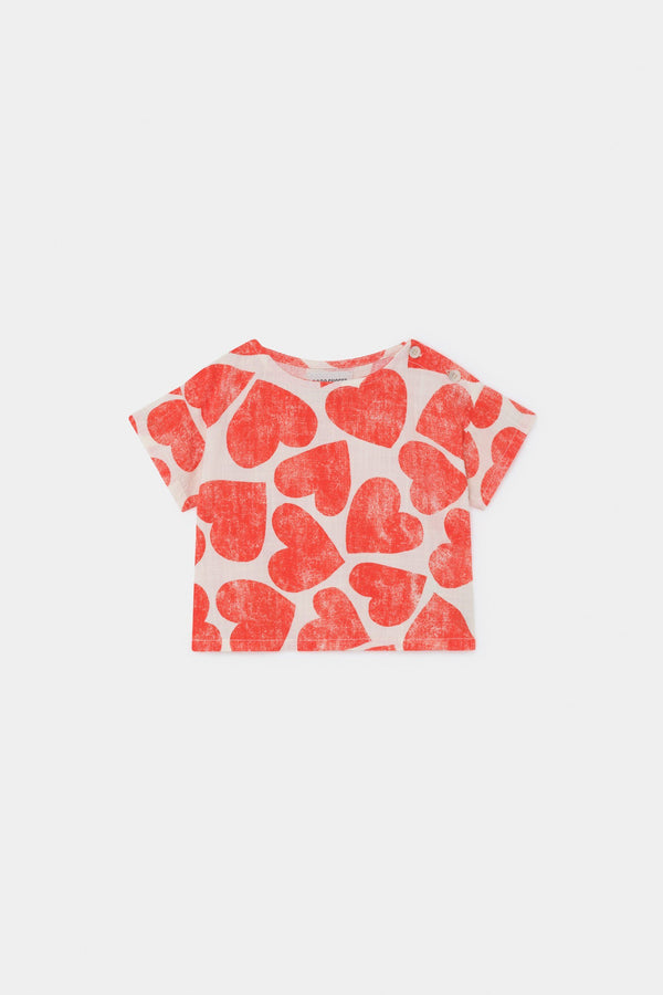 Hearts blouse Bobo Choses