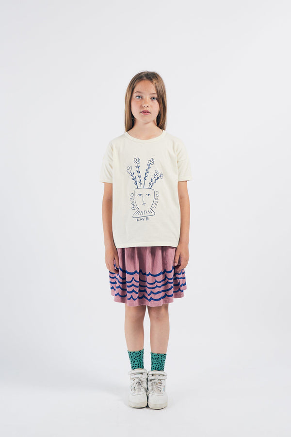 Flowers t-shirt Bobo Choses