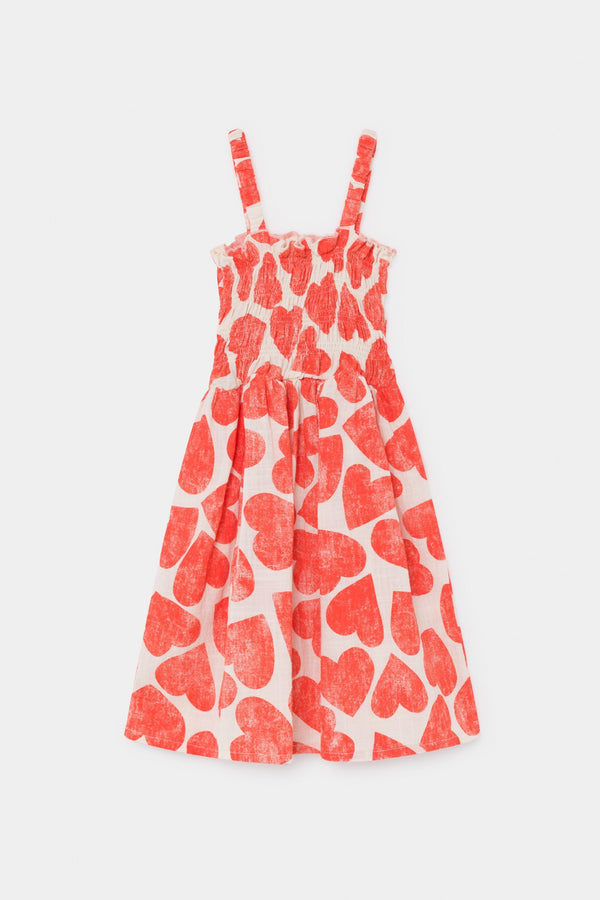 Hearts smoked dress Bobo Choses