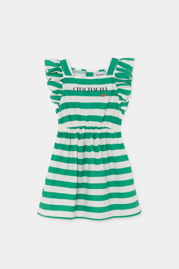 Chachacha kiss ruffle dress Bobo Choses