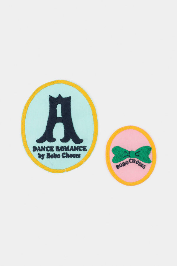 Dance company iron-on patches Bobo Choses
