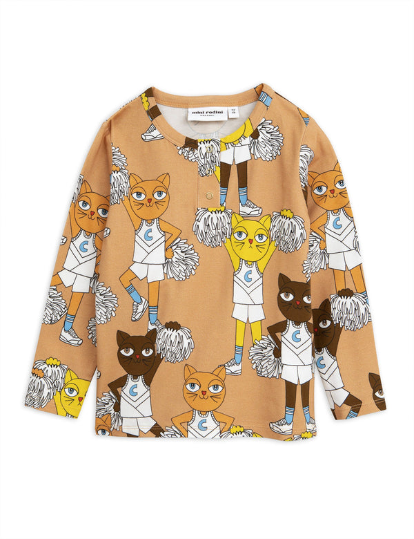 Cheer cats LS shirt Mini Rodini