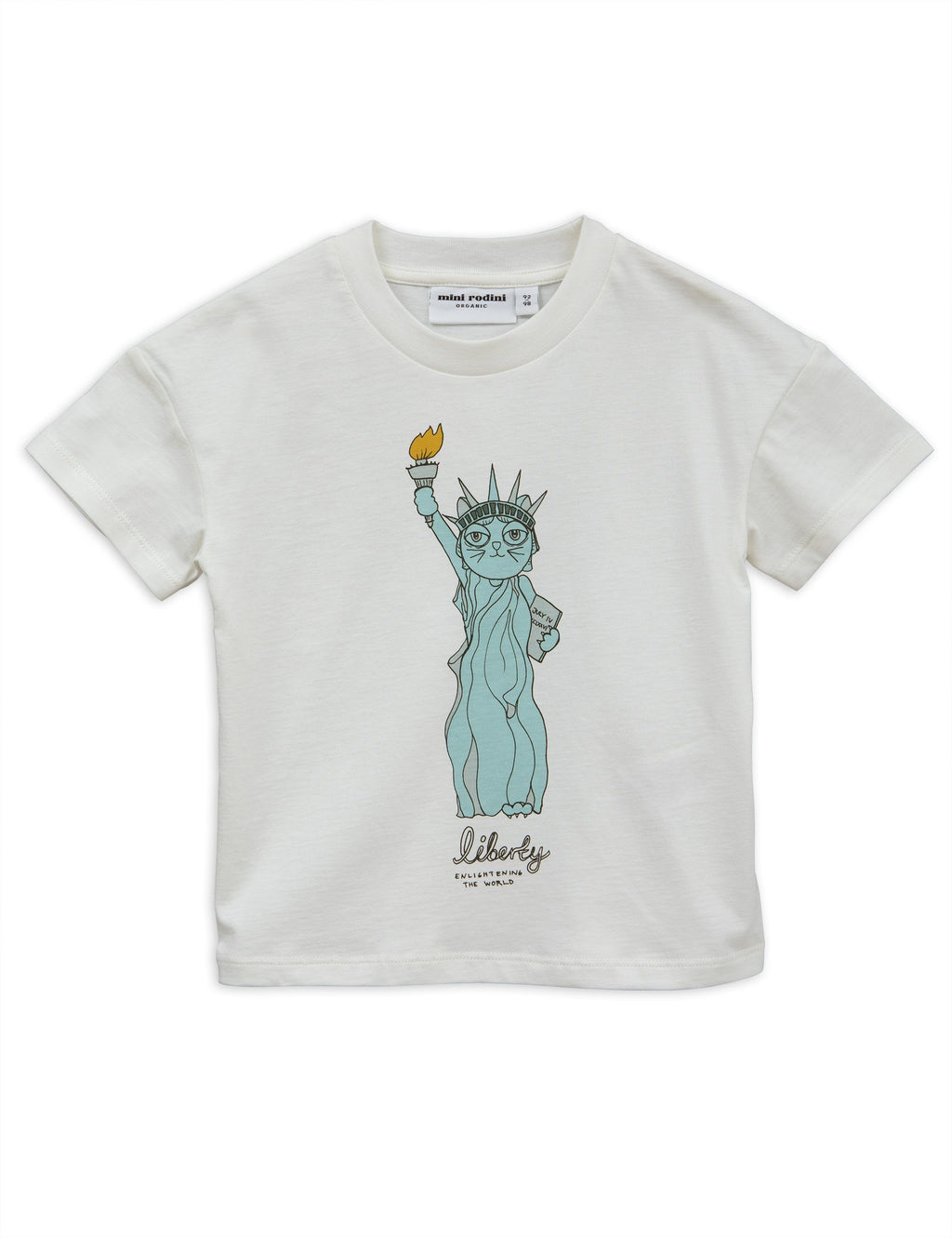 Liberty t-shirt Mini Rodini