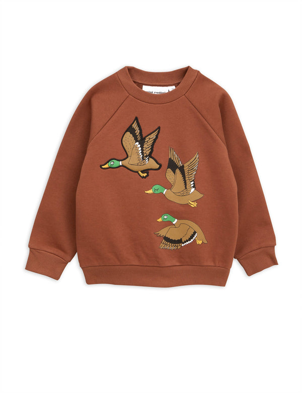 Wild duck sweatshirt brown Mini Rodini