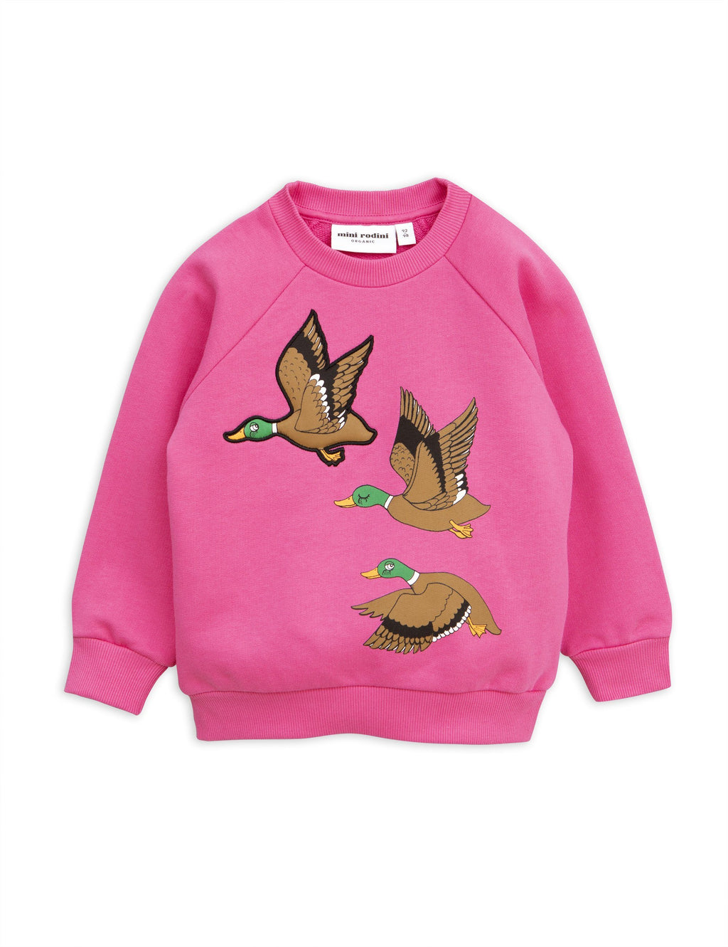 Wild duck sweat shirt pink Mini Rodini