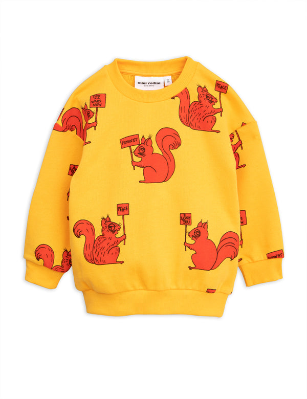 Squirrel sweatshirt Mini Rodini