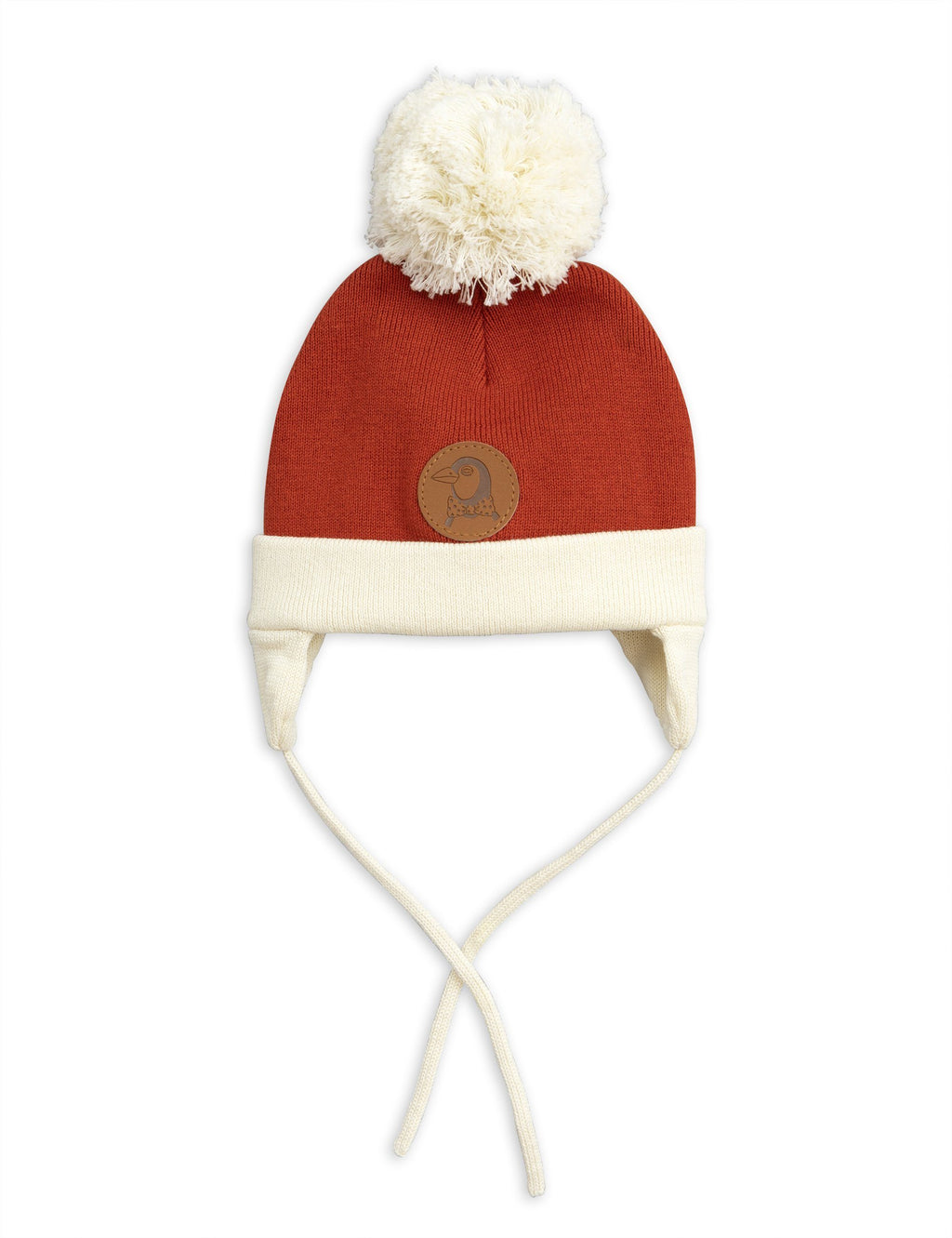 Red penguin baby hat Mini Rodini
