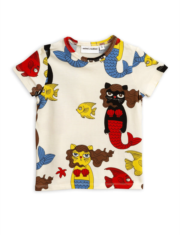 Cat mermaid SS shirt Mini Rodini