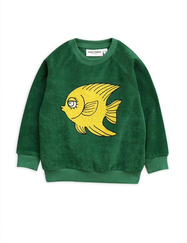 Fish terry sweatshirt  Mini Rodini