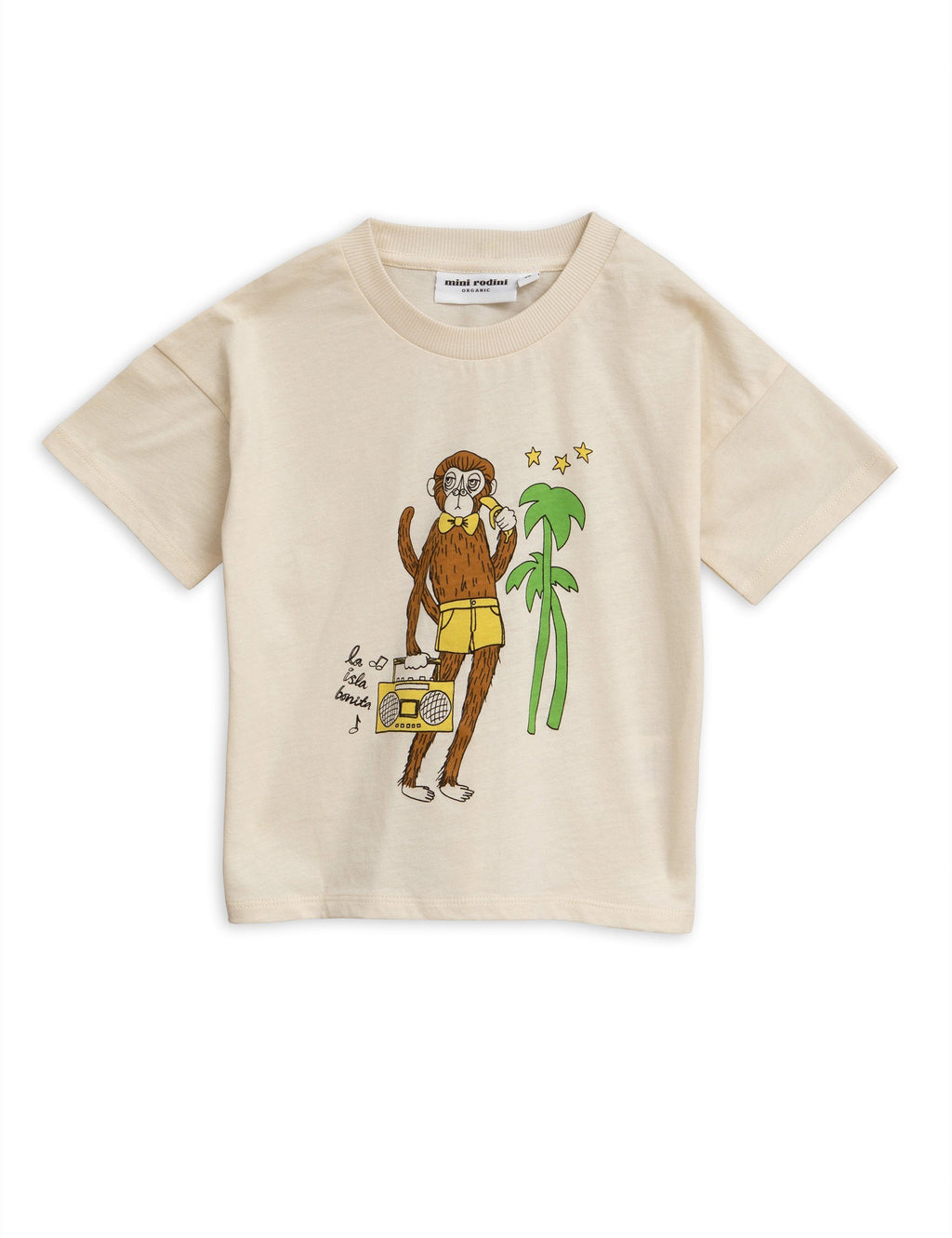 Cool monkey t-shirt Mini Rodini Tops Mini Rodini