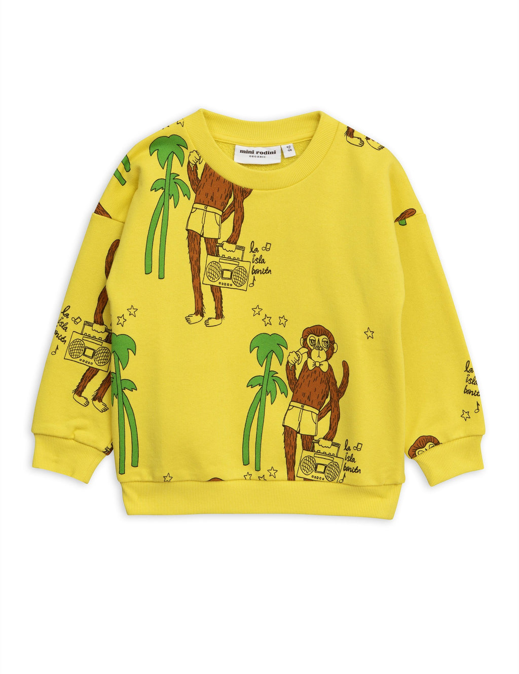 Cool monkey sweatshirt Mini Rodini