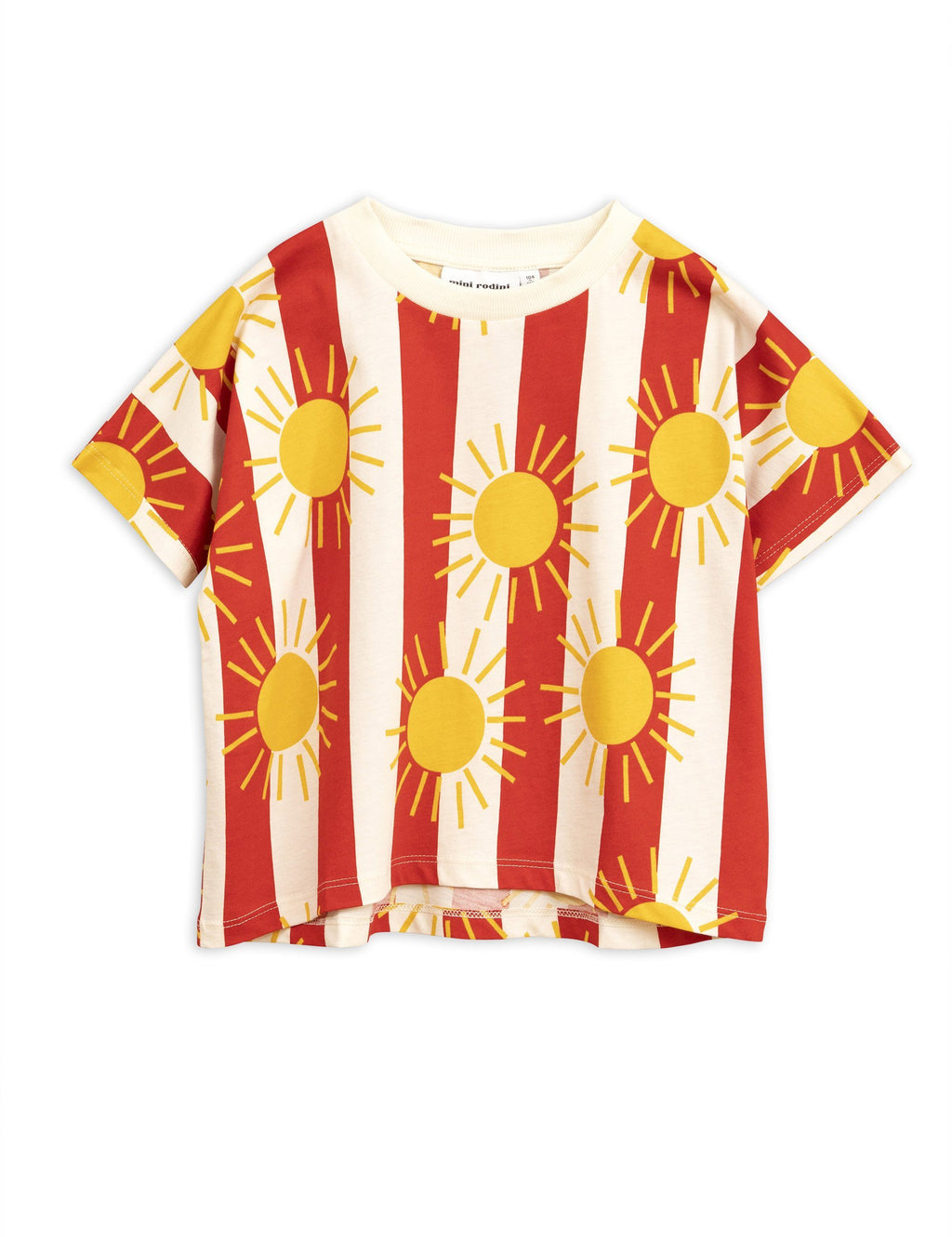 Sun stripe t-shirt Mini Rodini