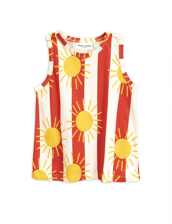 Sun stripe tank top Mini Rodini