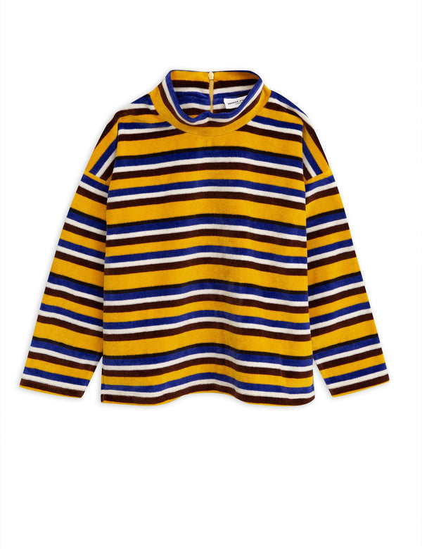 Velour stripe sweater Mini Rodini
