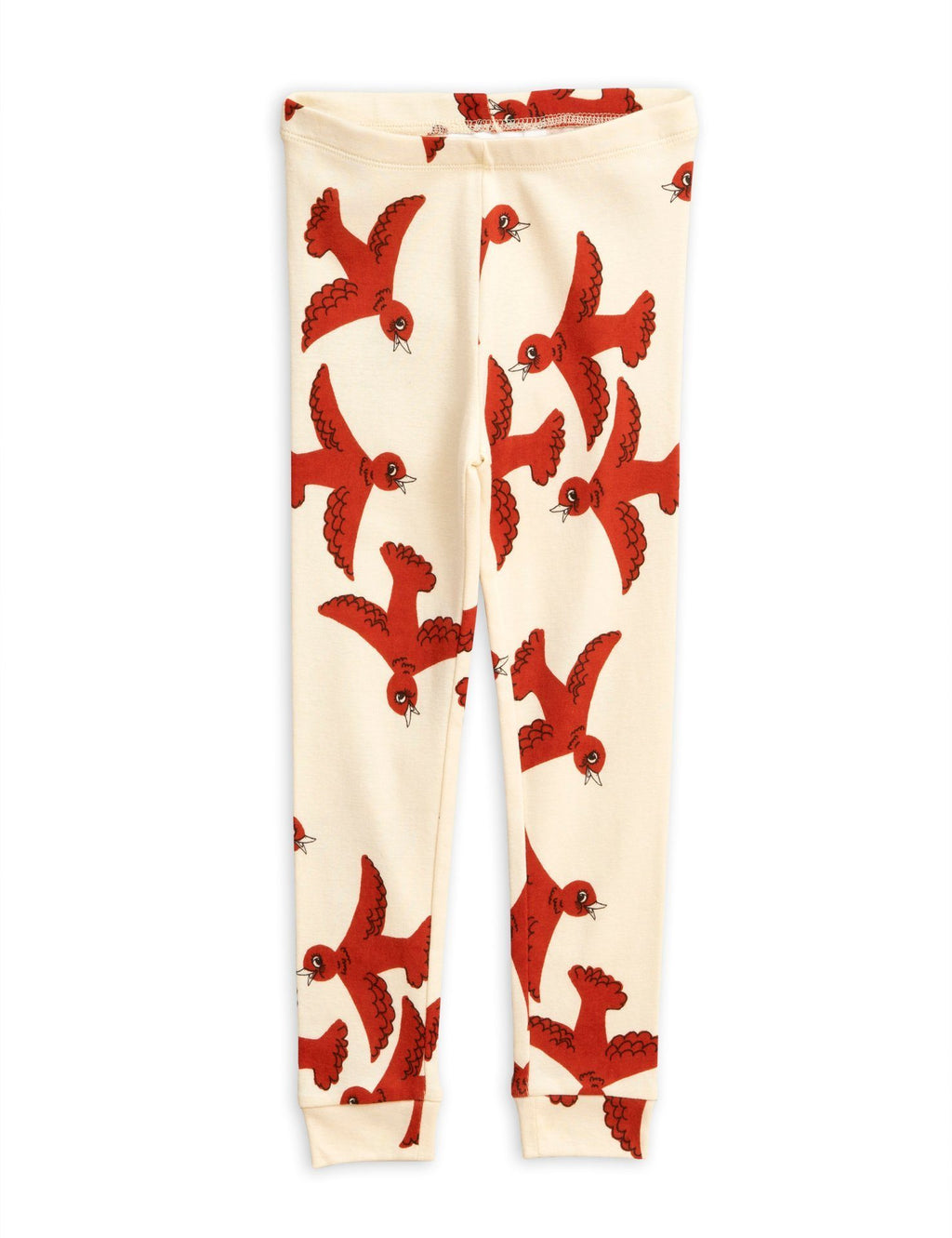 Flying birds leggings Mini Rodini Bottoms Mini Rodini