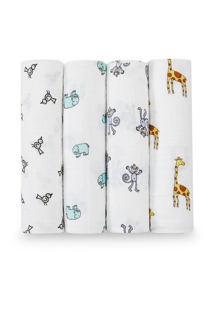 Muslins Jungle Jam 4-pack