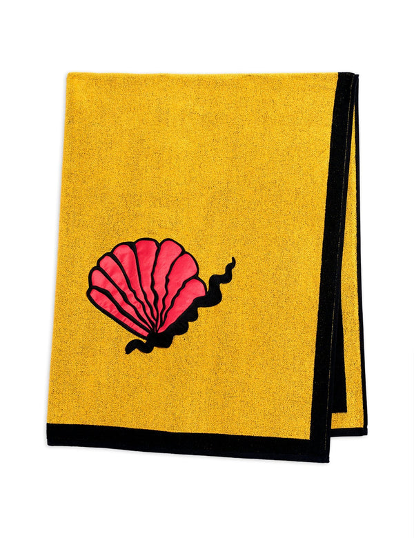 Shell beach towel Mini Rodini Swimwear Mini Rodini