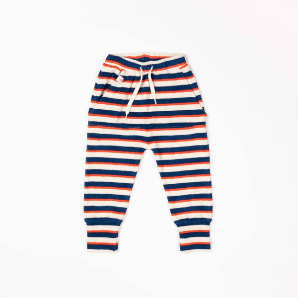 Mason pants blue striped AlbaBaby
