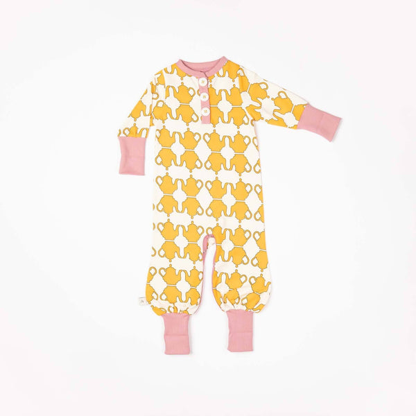 Hert playsuit beeswax teapots AlbaBaby