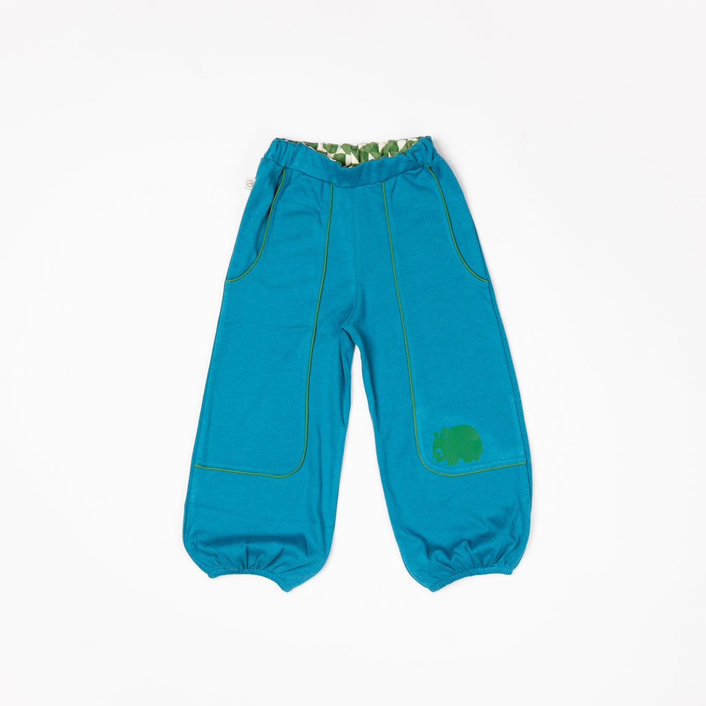 Hobo baggy pants seaport blue AlbaBaby