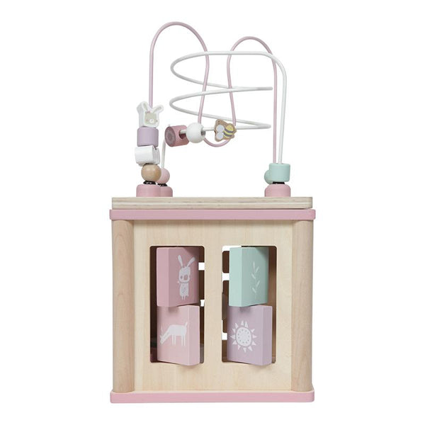 Activity cube pink Little Dutch
