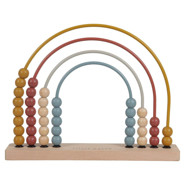 Rainbow abacus pure & nature Little Dutch