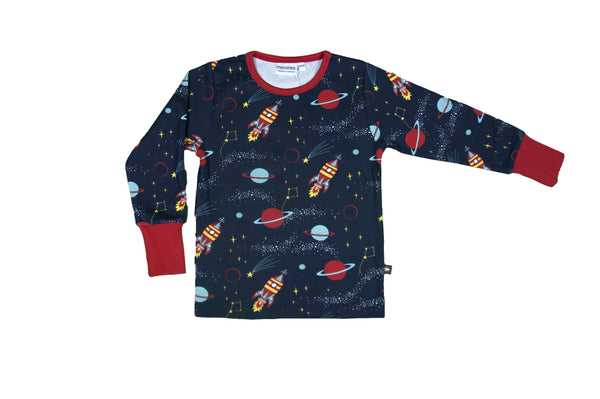 Outer space LS top Moromini