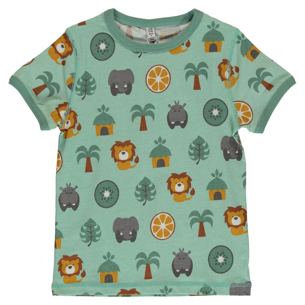 Jungle t-shirt Maxomorra Tops Maxomorra