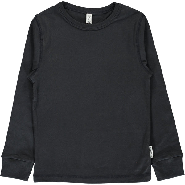 Black LS top Maxomorra Tops Maxomorra
