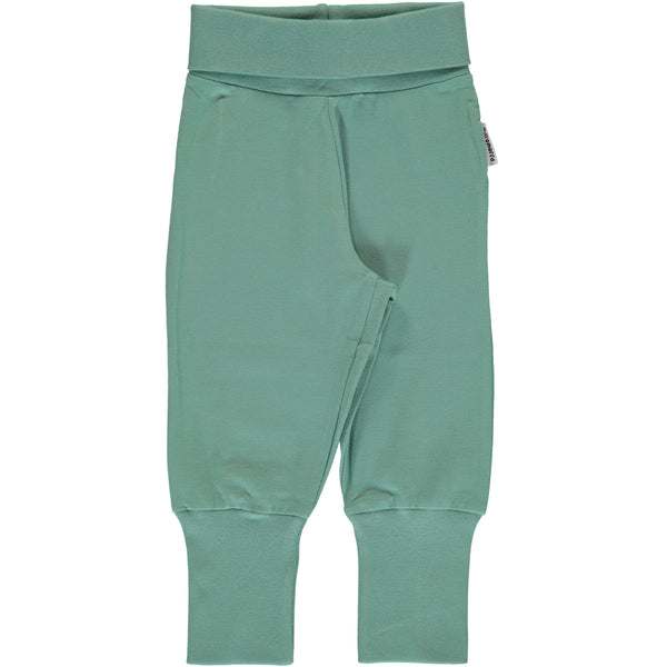Rib pants pale army Maxomorra