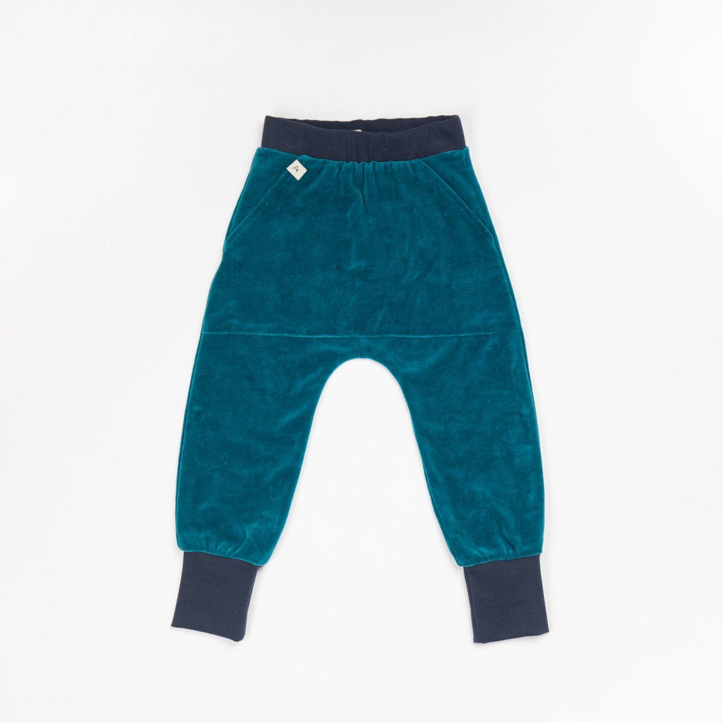 Maison pants blue coral AlbaBaby