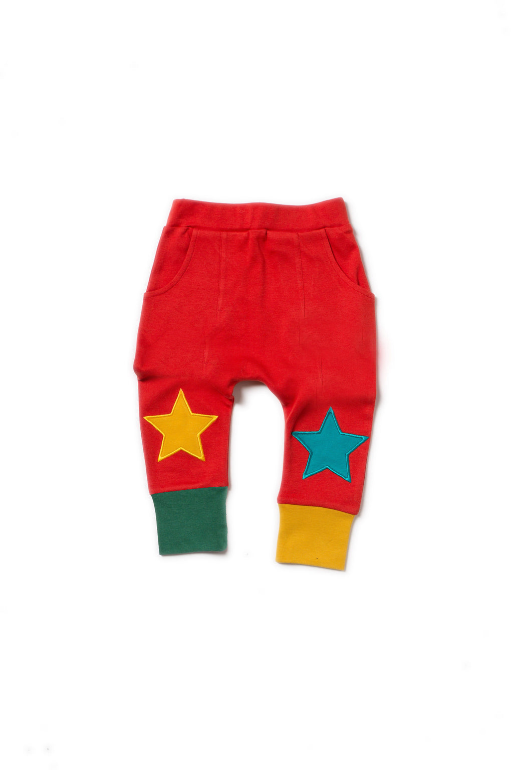 Red star joggers Little Green Radicals