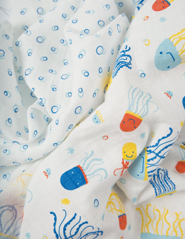 Lovely muslins - jazzy jellies - 2 pack