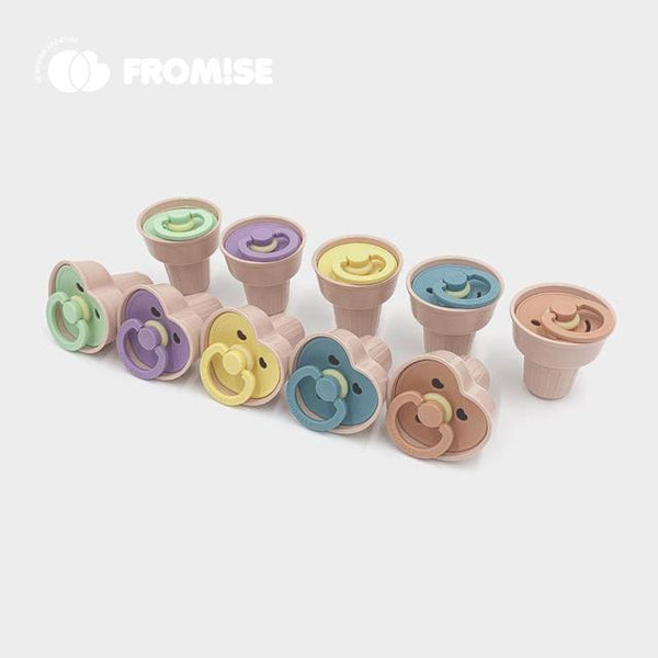 1 cone case heart primrose Pacifier Fromise