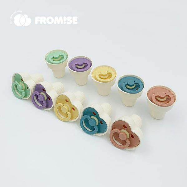 1 cone case heart snow Pacifier Fromise