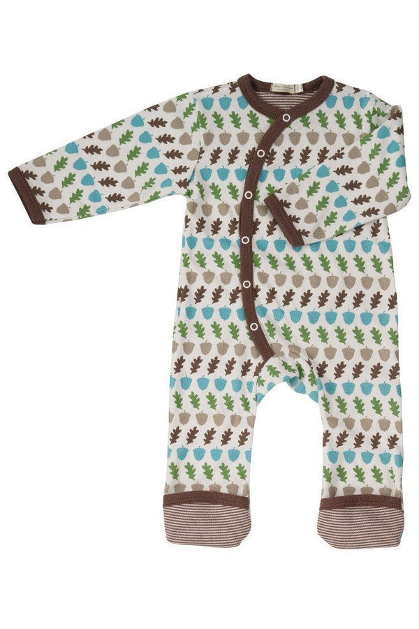 Acorn Jumpsuit - brown Playsuit Pigeon Organics