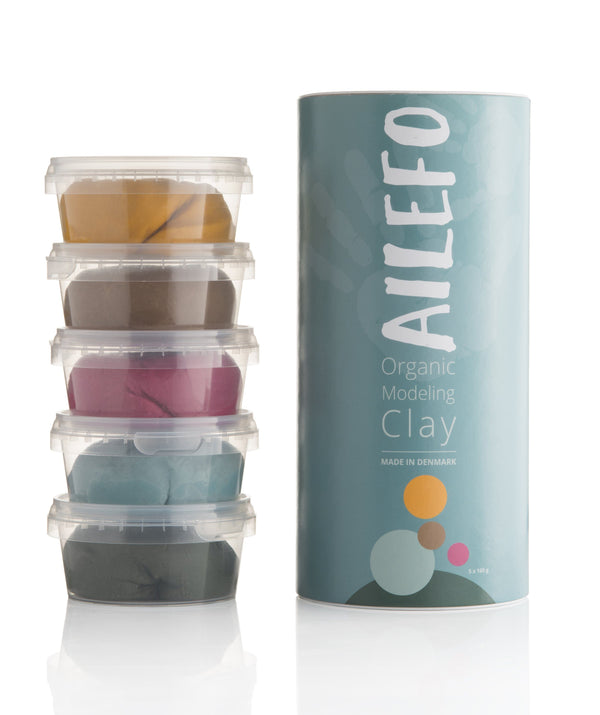 Organic modeling clay - large tube Ailefo clay Ailefo