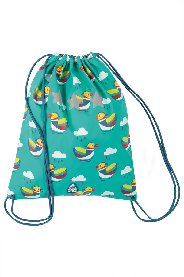 Good to go bag - pacific aqua mandarin ducks Frugi