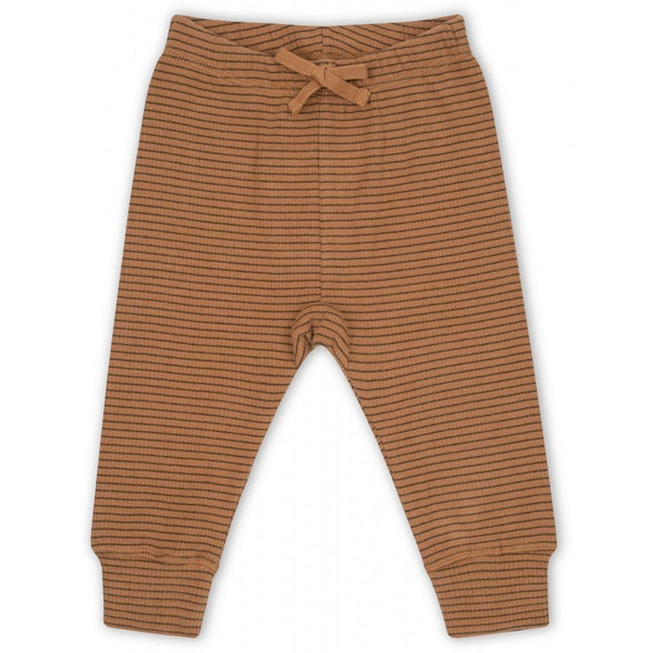 Kaya pants stripes mocca/beige Bottoms Konges sløjd